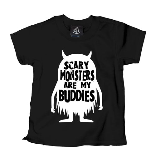 Scary Monsters are my Buddies Kid's T-Shirt