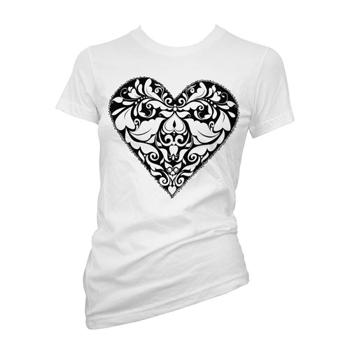 Stippled Heart Women's T-Shirt