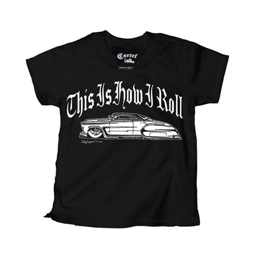 This Is How I Roll Kustom Chevy Kid's T-Shirt
