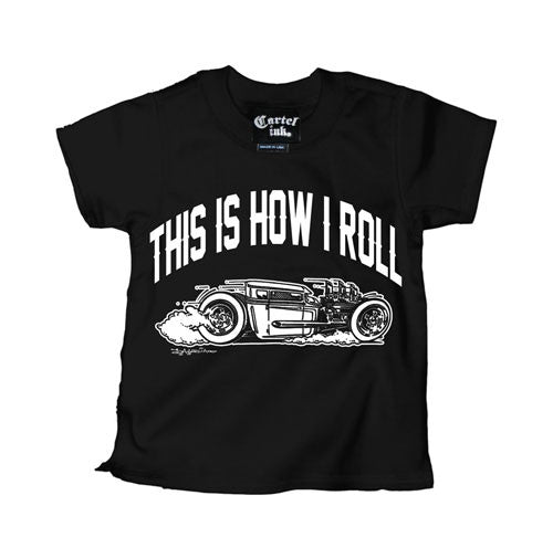 This Is How I Roll Rat Rod Kid's T-Shirt