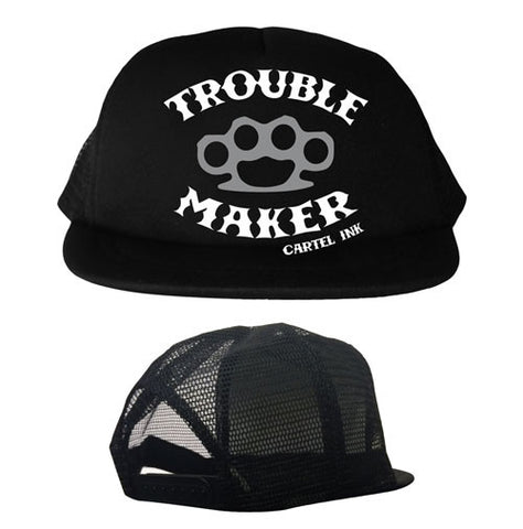 Trouble Maker Youth Trucker Hat
