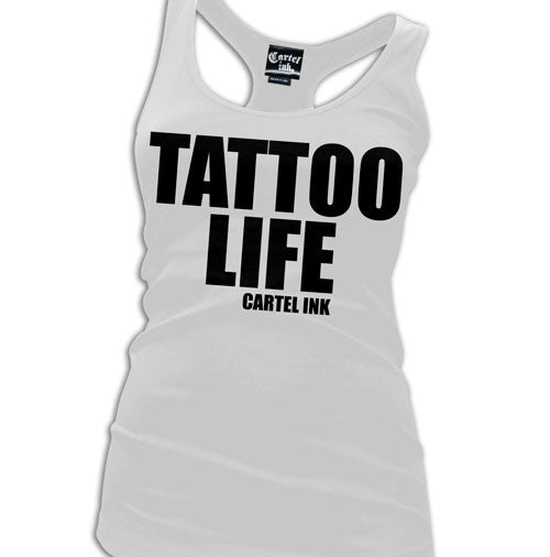 Tattoo Life Women's Racer Back Tank Top