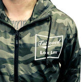 Tattooed Low Life Camouflage Wind Breaker