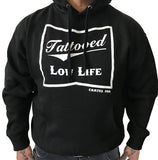 Tattooed Low Life Pull Over Hoodie