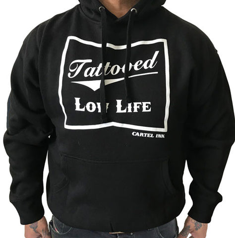 Tattooed Low Life Black Wind Breaker