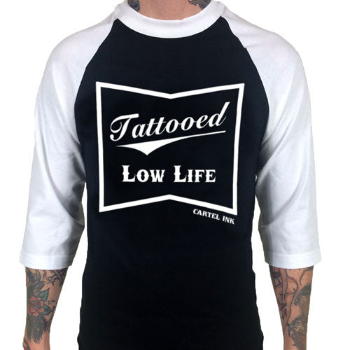 tattooed low life baseball jersey