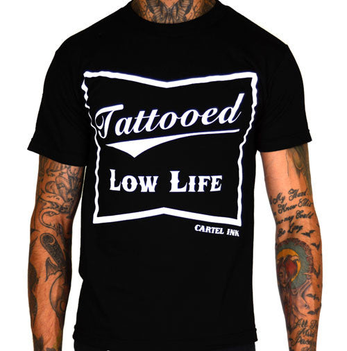 Tattooed Low life Men's T-Shirt