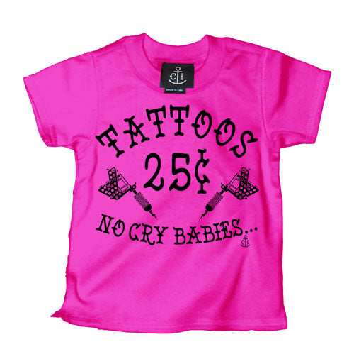 Tattoos 25¢ Kid's T-Shirt