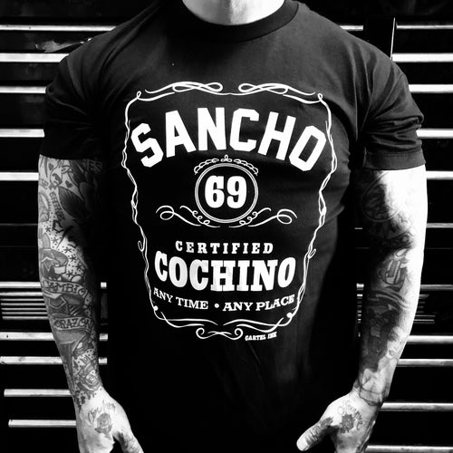 Sancho Certified Cochino Men's T-Shirt