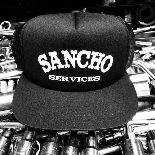 Sancho Services Trucker Snapback Hat