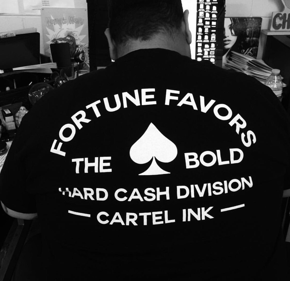 Fortune Favors the Bold Men's T-Shirt