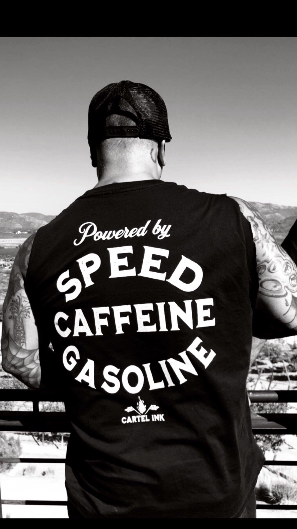 Speed Caffeine and Gasoline Men's T-Shirt