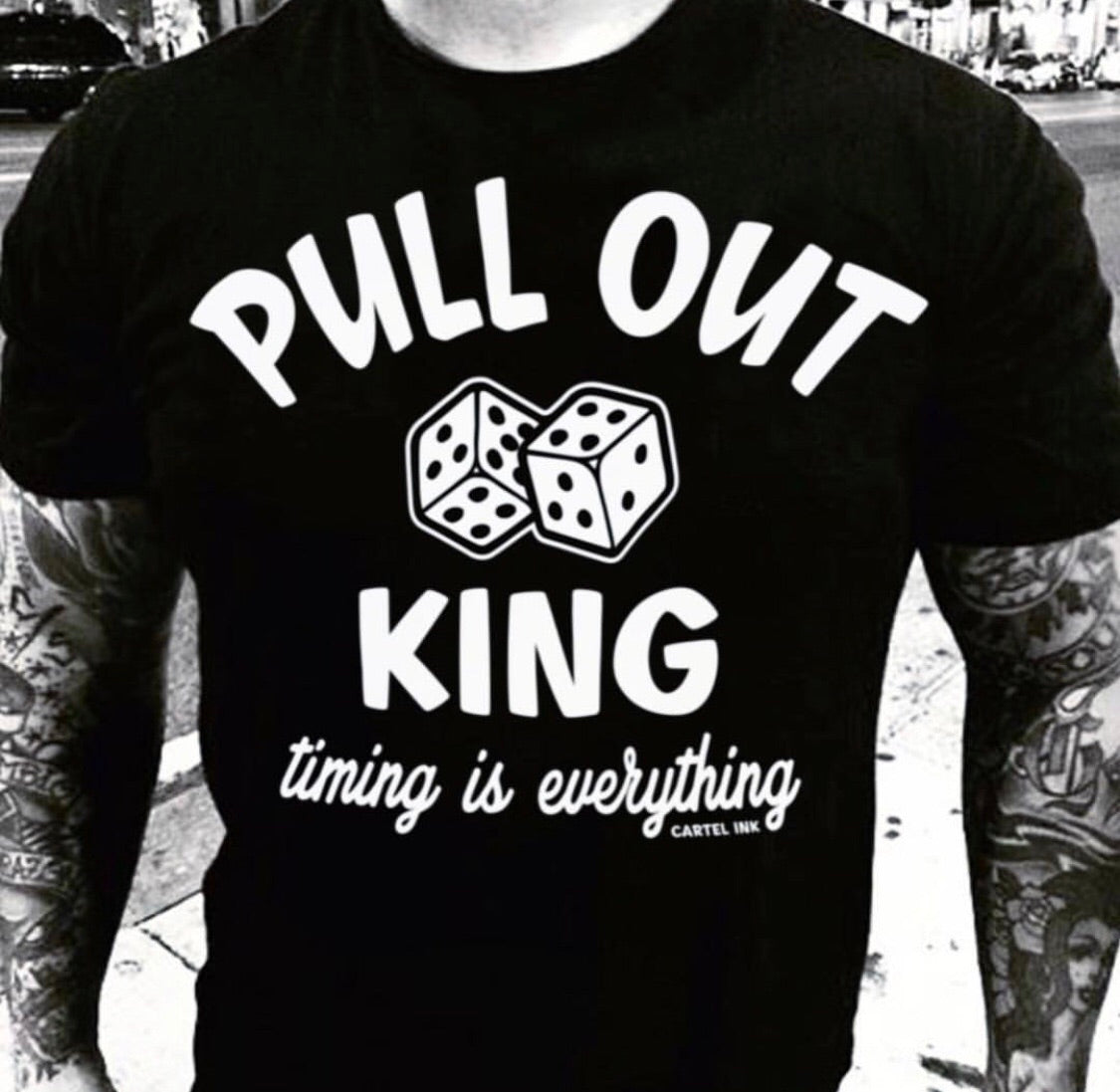 Pull Out King Men's T-Shirt