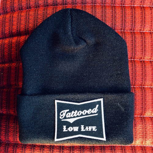 OG Tattooed Low Life Cuffed Knit Beanie