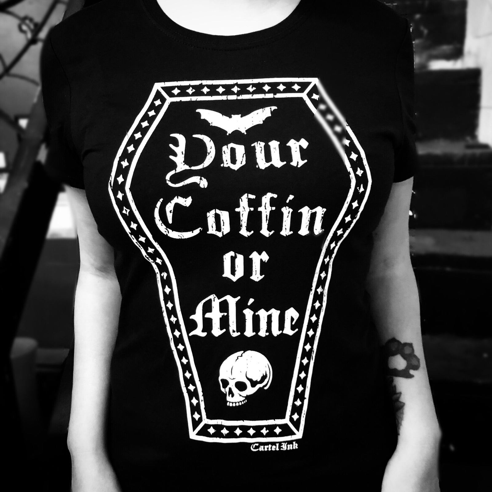 your coffin or mine