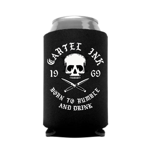 Born to Rumble and Drink Can Coolers