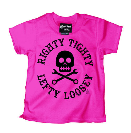Righty Tighty Lefty Loosey Kid's T-Shirt