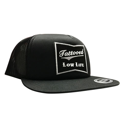 9aaefca19e2 OG Tattooed Low Life Embroidered Trucker Hat – Cartel Ink