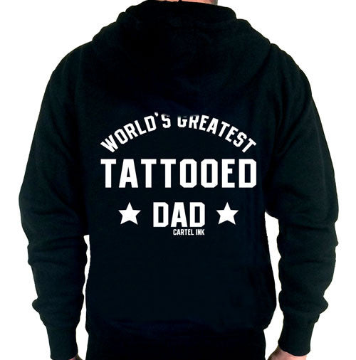 World's Greatest Tattooed Dad Hooded Sweatshirt