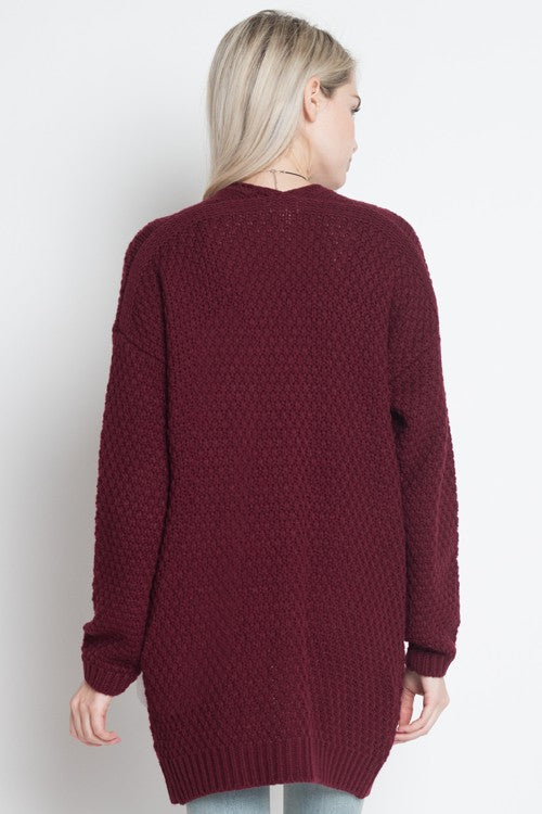 Dreamers Crimson Cardigan