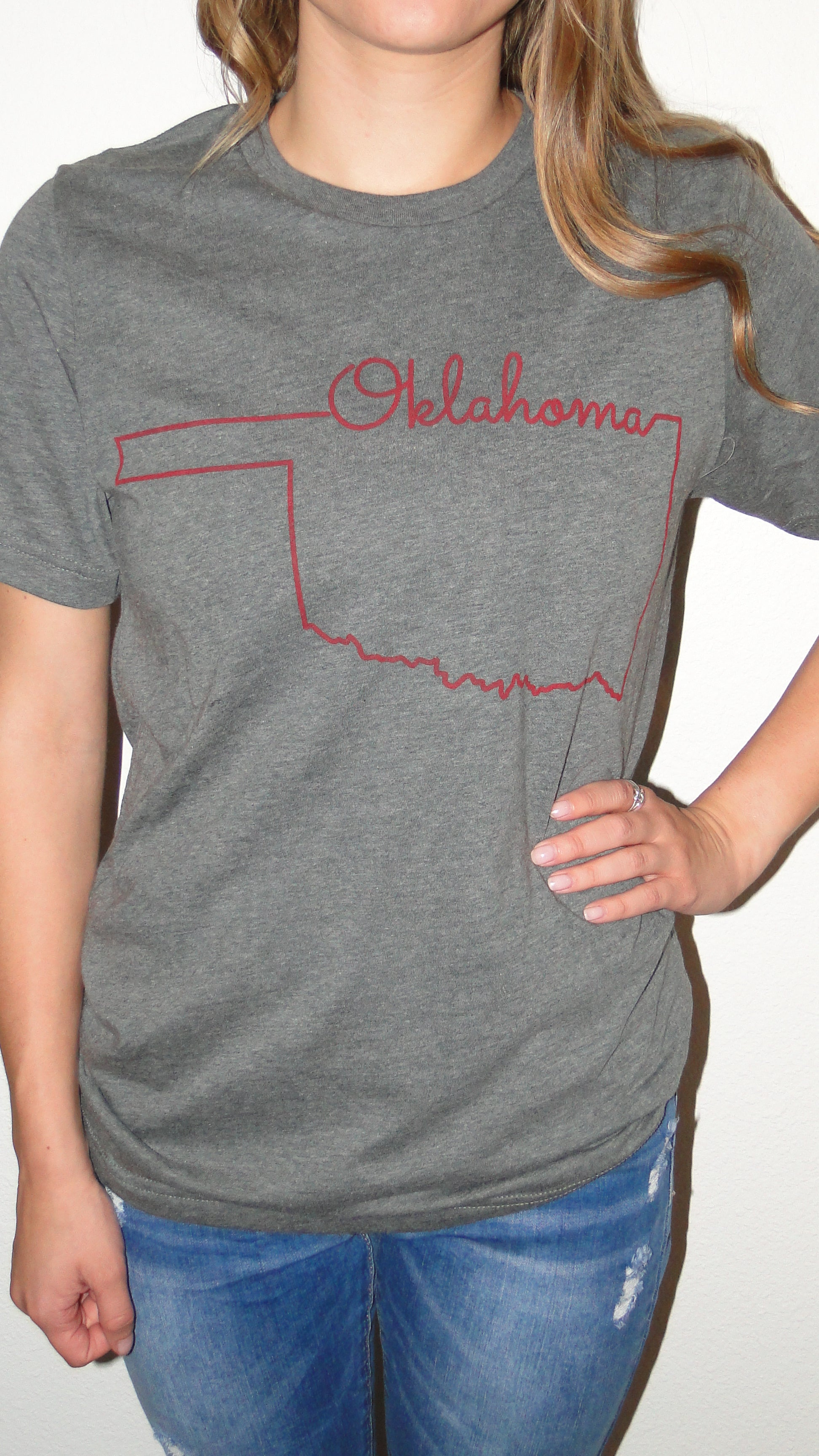 """Oklahoma"" Gameday Tee"