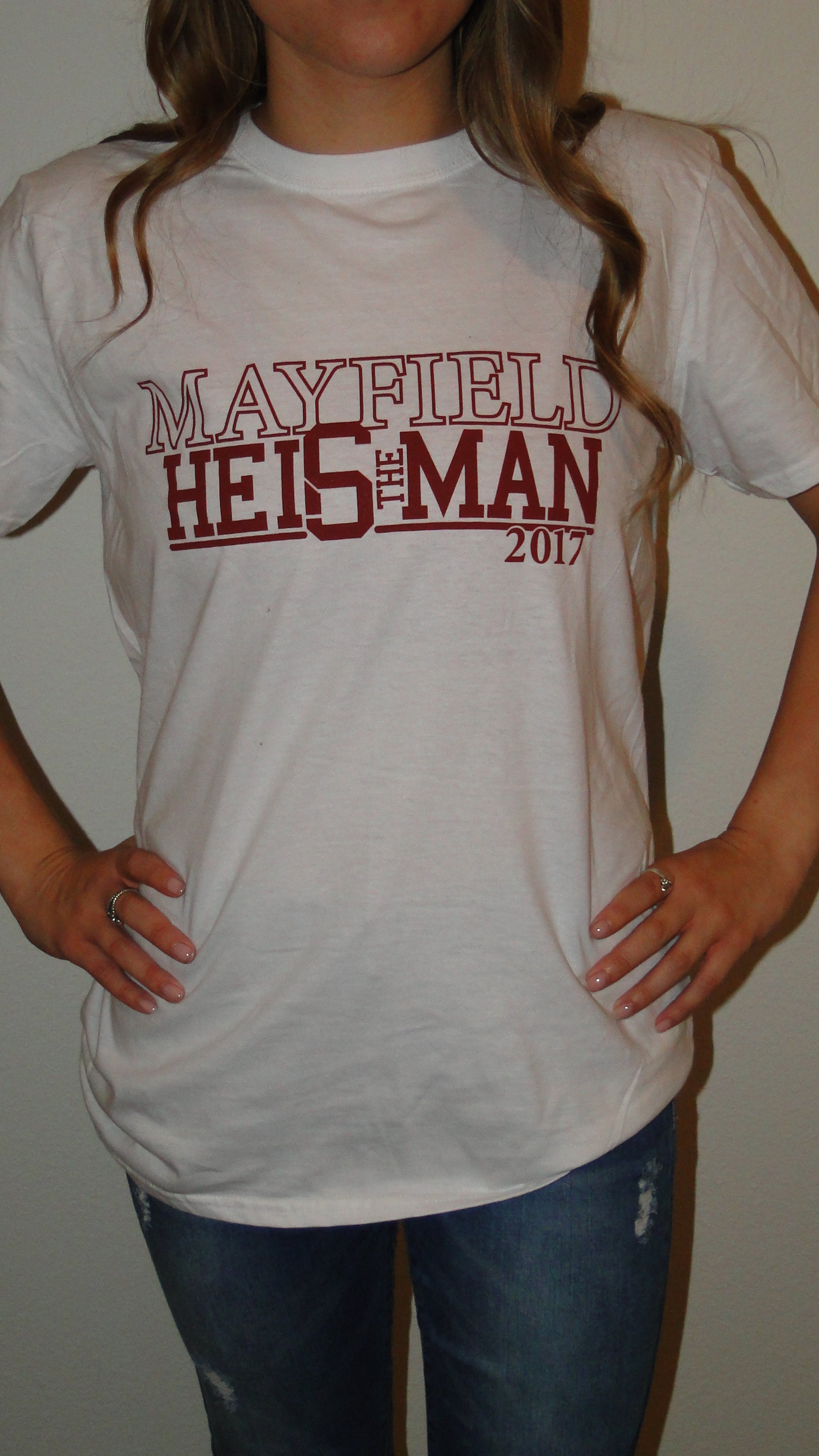 """Mayfield White"" Gameday Tee"