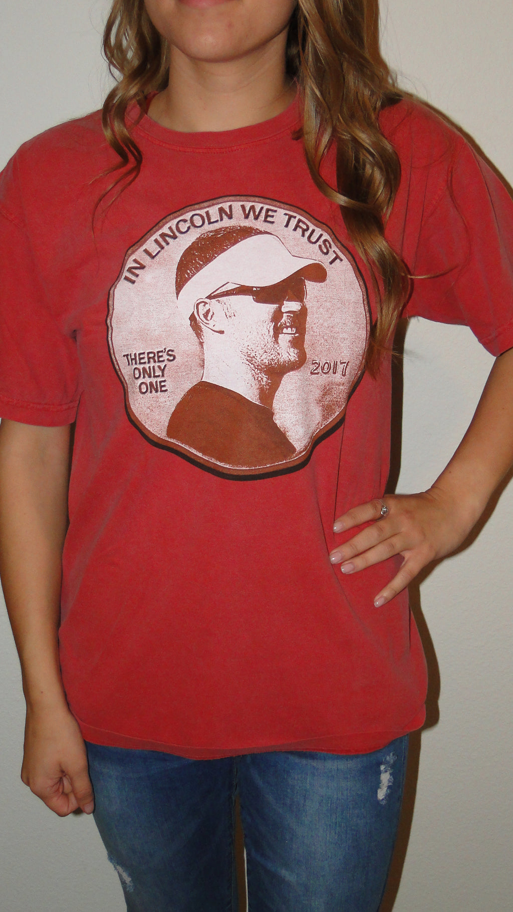 """Lincoln"" Gameday Tee"