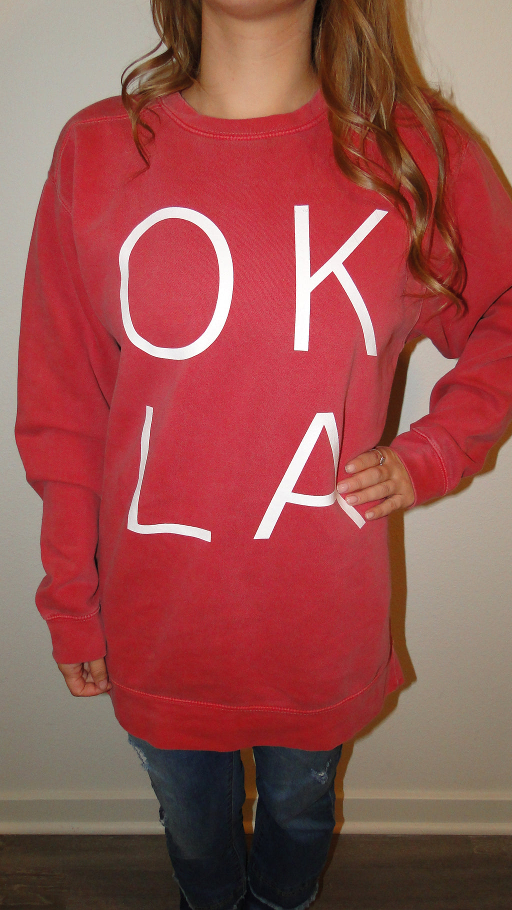 """OKLA"" Gameday Sweatshirt"