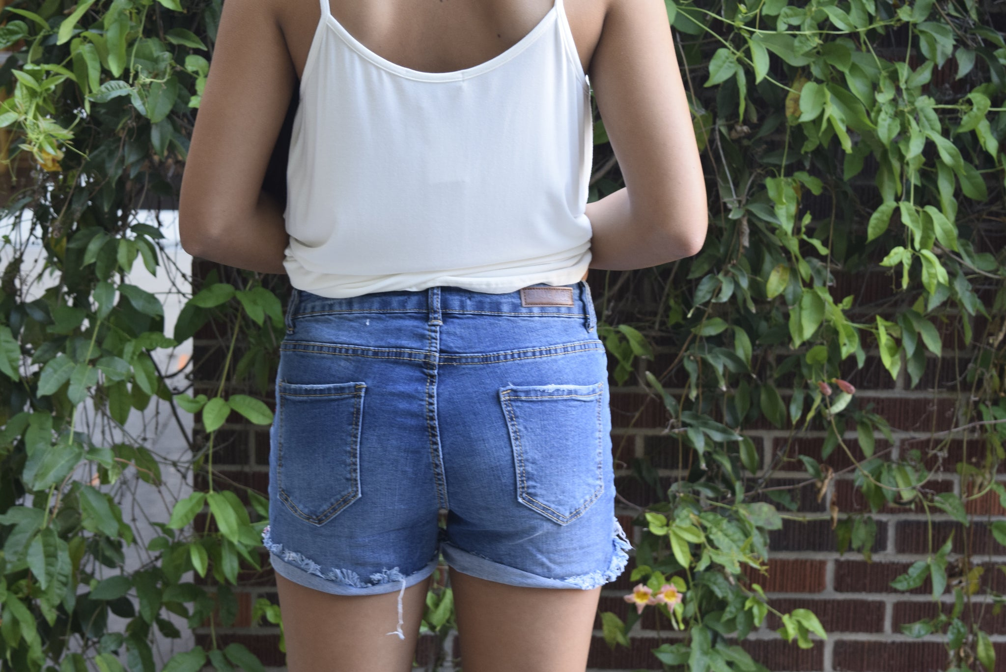 Blue Age Denim Shorts