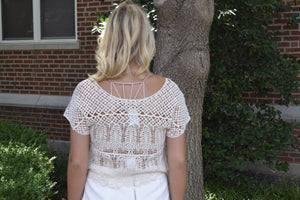 Honeylee Crop Crochet