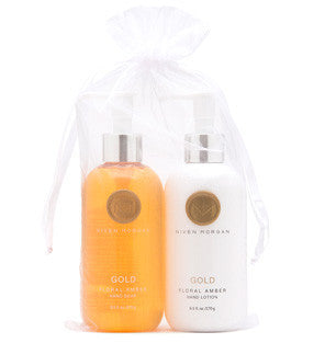 Niven Morgan Gold Hand Lotion & Soap
