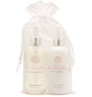 Niven Morgan Green Tea & Peony Hand Lotion & Soap
