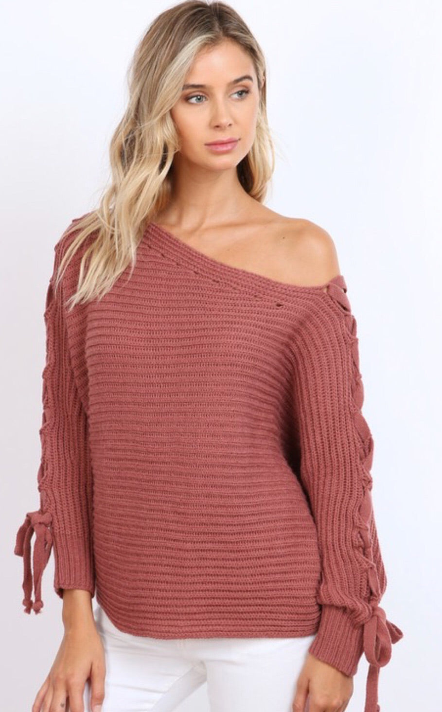 Tie-Up Sweater