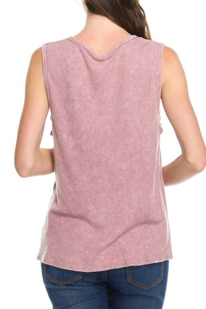 Lazy Sundays Blush Tank