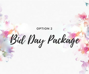 RUSH Bid Day Package: Option 2