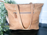Myra Magnetic Leather & Hairon Bag