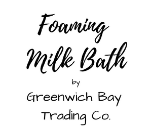 Foaming Milk Bath