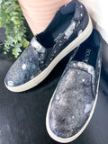 Corkys Pine Top Pewter Slip On