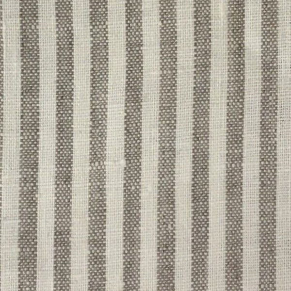 USA Natural Stripe-Yarn Dyed 100% Linen 7.0 Oz (Medium Weight | 56 Inch Wide| )