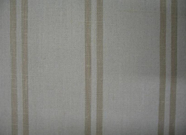 Berlin Tan 1 Stripes 100% Linen  (Medium/Heavy Weight | 56 Inch Wide| ) Promotional Collection