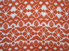 BOTANICAL  ORANGE , 100% LINEN 7 OZ ,54