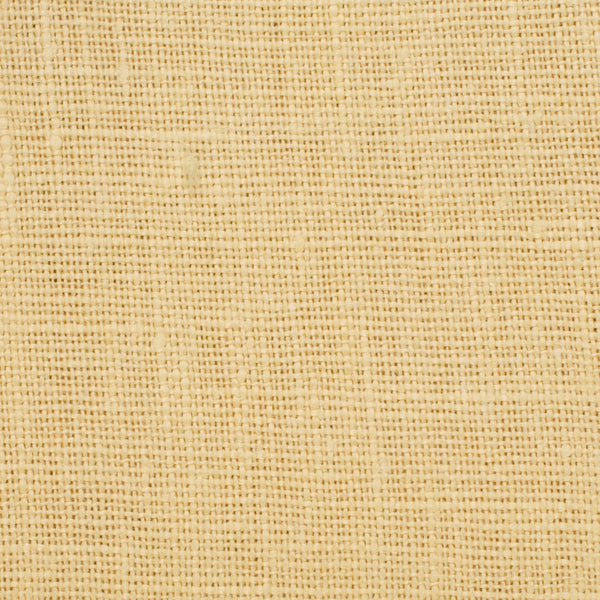 SAMPLE - Belgian Banana Yellow 2 - 100% Linen 7.5 Oz (Medium Weight | 56 Inch Wide | Extra Soft) Solid | By Linen Fabric Store Online