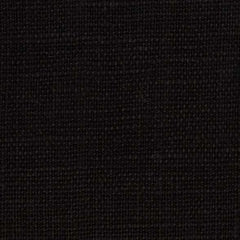 Belgian PW Black 1  - 100% Linen 7.5 Oz (Medium Weight | 56 Inch Wide | Pre Washed-Extra Soft) Solid| By Linen Fabric Store Online