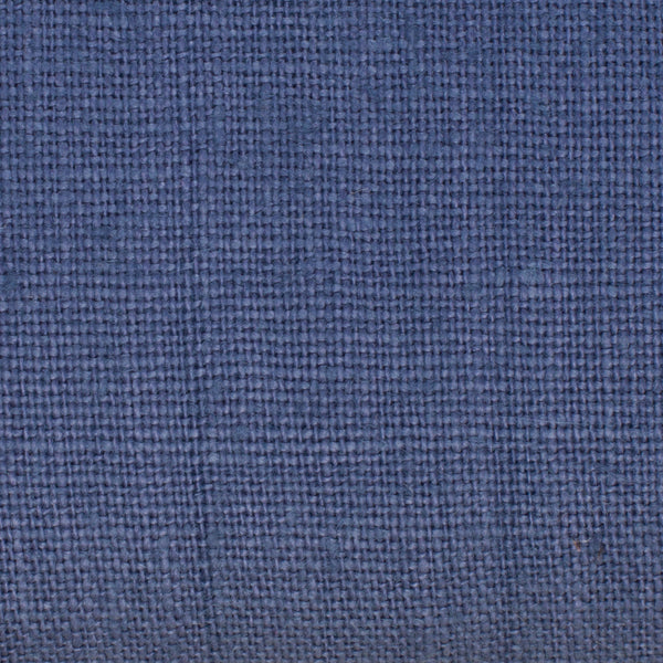 SAMPLE - Belgian Blue 8 - 100% Linen 7.5 Oz (Medium Weight | 56 Inch Wide | Extra Soft) Solid | By Linen Fabric Store Online