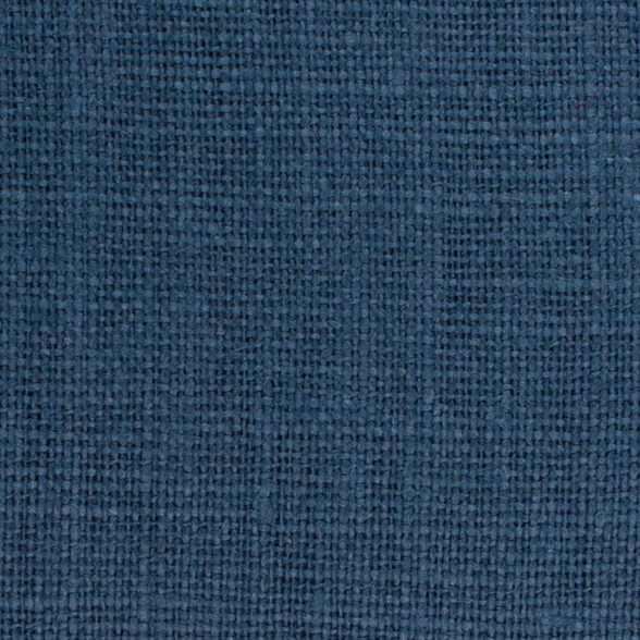 Belgian PW Blue 9 - 100% Linen 7.5 Oz (Medium Weight | 56 Inch Wide | Pre Washed-Extra Soft) Solid