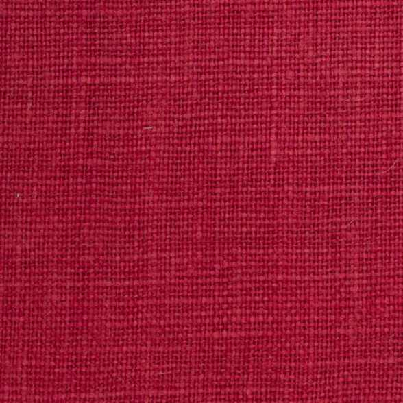 Belgian PW Bright Red 4 - 100% Linen 7.5 Oz (Medium Weight | 56 Inch Wide | Pre Washed-Extra Soft) Solid