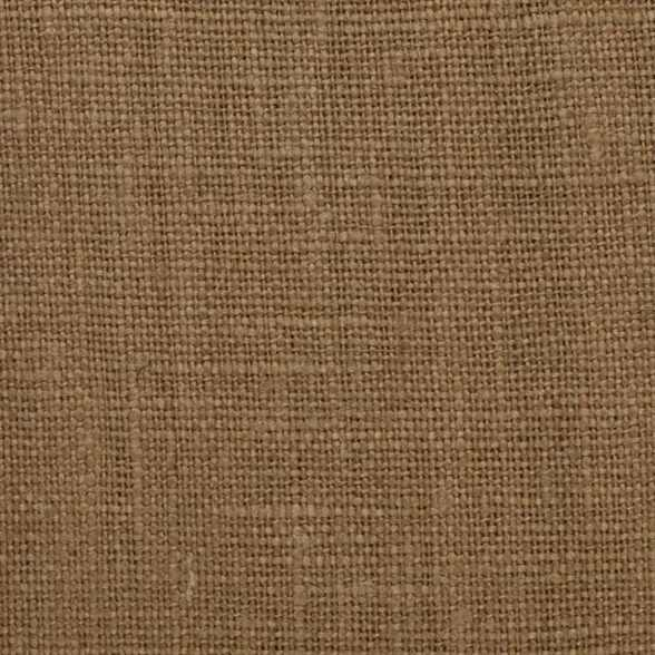 Belgian PW Brown 10 - 100% Linen 7.5 Oz (Medium Weight | 56 Inch Wide | Pre Washed-Extra Soft) Solid