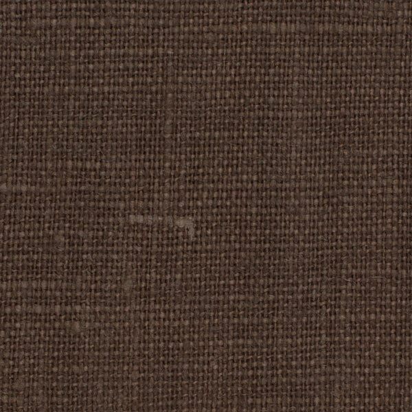 Belgian PW Brown 14 - 100% Linen 7.5 Oz (Medium Weight | 56 Inch Wide | Pre Washed-Extra Soft) Solid