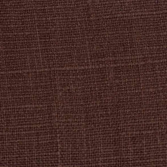 Belgian Chocolate Brown 15 - 100% Linen 7.5 Oz (Medium Weight | 56 Inch Wide | Extra Soft) Solid