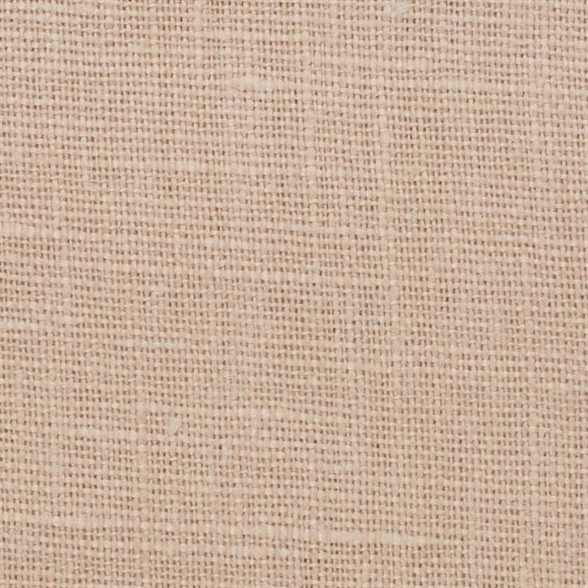 Belgian PW Cream 5 - 100% Linen 7.5 Oz (Medium Weight | 56 Inch Wide | Pre Washed-Extra Soft) Solid